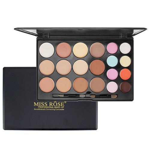 Paleta de Base e Corretivos 20 Cores - Miss Rôse