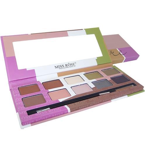 Paleta de Sombras Matte 10 Cores - Flare - Miss Rôse