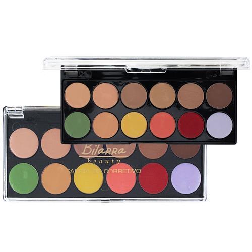 Paleta de Corretivo 12 Cores - Bitarra Beauty