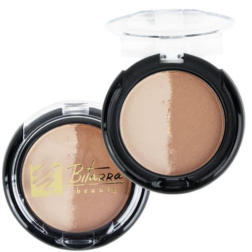 Blush Duo Iluminador e Bronzeador - Bitarra Beauty