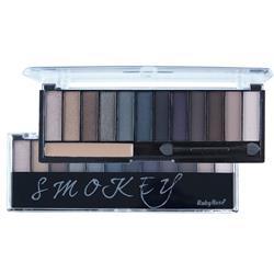 Paleta de Sombras 12 Cores Smokey - Ruby Rose