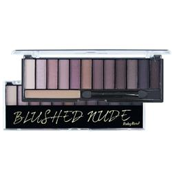 Paleta de Sombras 12 Cores Blushed Nude - Ruby Rose