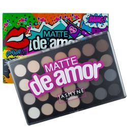 Paleta de Sombras Matte de Amor 28 cores - Jasmyne