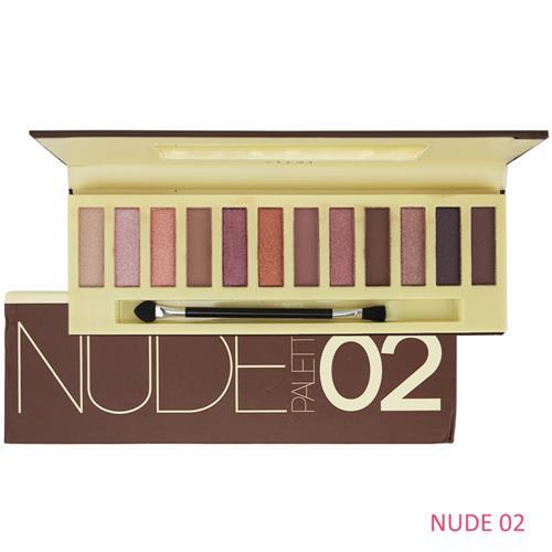 Paleta de Sombras Nude Palette Cor 02 - Vivai