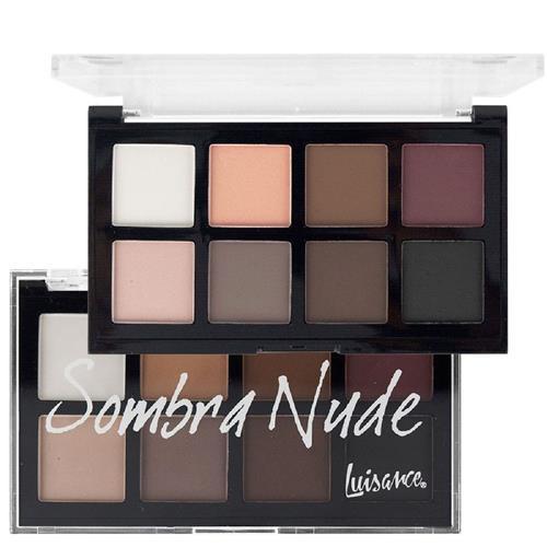 Paleta de Sombras Nude 8 Cores - Luisance