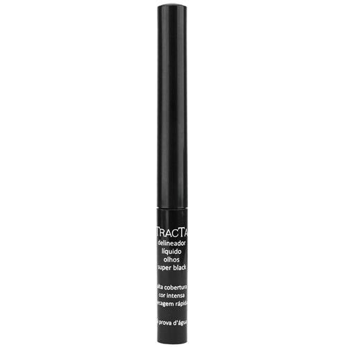 Delineador Líquido para Olhos Super Black - Tracta