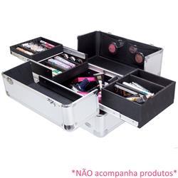 Maleta de Alumínio Profissional para Maquiagem FS-1181A - Ruby's