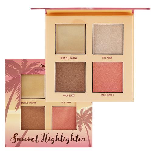 Paleta de Iluminador Sunset Highlighter - Ruby Rose