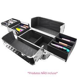 Maleta de Alumínio Profissional para Maquiagem FS-1181M - Ruby's