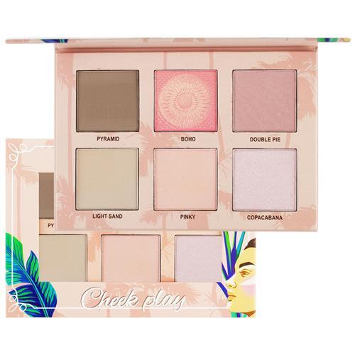 Paleta Hightlight Contour Blush Cheek Play - Ruby Rose