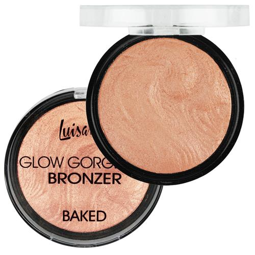Pó Glow Gorgeous Bronzer Baked - Luisance