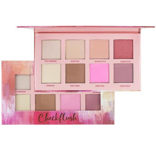 Paleta de Blush e Contorno Cheek flush - Ruby Rose
