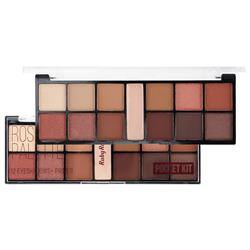 Paleta de Sombras 12 Cores Rose Gold Pocket - Ruby Rose