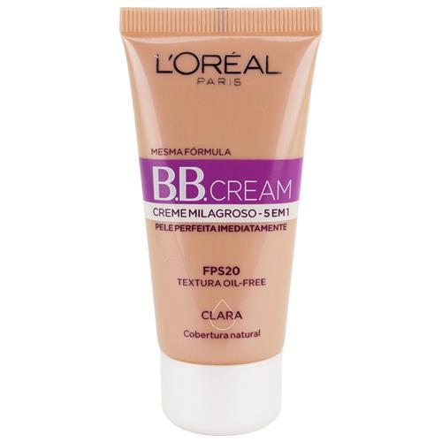 BB Cream Creme Milagroso 5 em 1 FPS 20 - L'Oréal