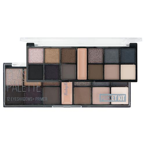 Paleta de Sombras 12 Cores Classic By Nature Pocket - Ruby Rose