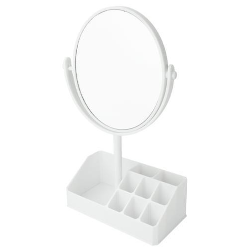 Espelho de Mesa com Divisórias Branco - Jacki Design