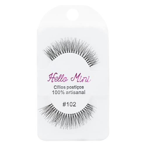 Cílios Postiços 102 - Hello Mini