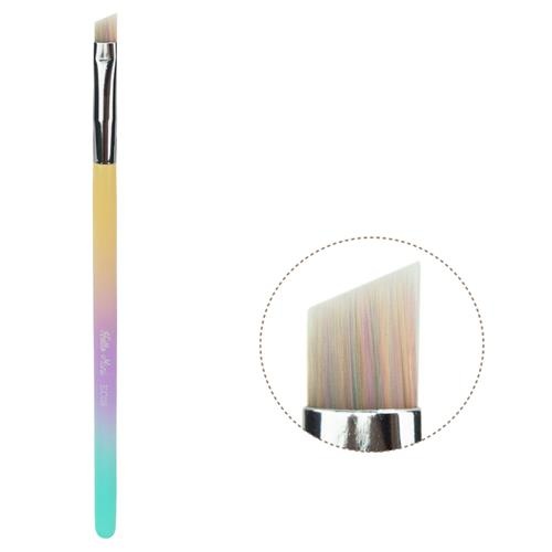 Pincel EC08 Profissional Chanfrado para Delinear Linha Marshmallow - Hello Mini
