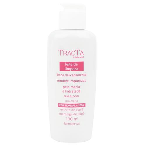 Leite de Limpeza Facial Pele Normal a Seca - Tracta