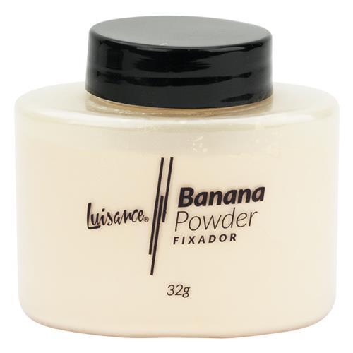 Pó Fixador Solto - Banana - Luisance