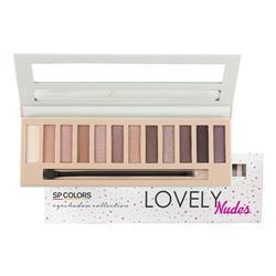 Paleta de Sombras 12 Cores Nudes - SP Colors