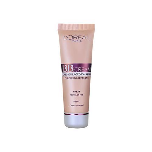 BB Cream 5 em 1 FPS 20 - L'Oréal